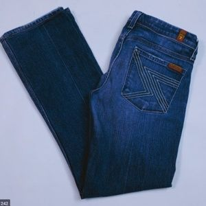 7 For All ManKind Denim Jeans Flynt Bootcut sz 28
